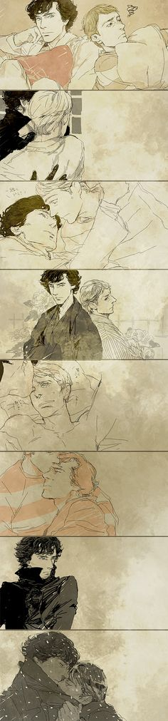 *flips laptop* yah.. I kindof do kindof don't ship Johnlock... I think they should be together but not in a lovey-dovey sort of way...