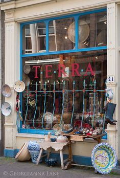 Amsterdam and Haarlem @ Georgianna Lane / shops and storefronts Amsterdam Souvenirs, Haarlem Netherlands, European River Cruises, Dutch People, Europe Bucket List, Visit Amsterdam, Shop Fronts, Shop Around, Small Shops