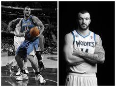 Nikola Pekovic - Center - Part of the MN Timberwolves team since 2010.