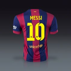 Nike Lionel Messi Barcelona Home Jersey 14 15  32a360099