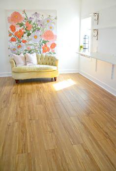 How To Install Laminate Flooring Over Concrete Laminate Flooring Basement, Installing Laminate Flooring, Wide Plank Flooring, Engineered Hardwood Flooring, Diy Flooring, Flooring Ideas, Inexpensive Flooring, Floor Molding, Luxury Vinyl Flooring