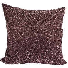 H&M Silver Sequin Cushion / Pillow Cover