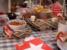 """""""Art de la table"""" Navidad 2013 en Made in Charme."""