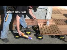 Install a Deck with Bison Products   Construction & Installation Videos