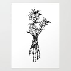 """in bloom #1"" art print // Society6"