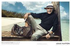 Annie Leibovitz  - Sean Connery for Louis Vuitton.