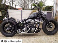 Softail Bobber, Bobber Bikes, Harley Bobber, Harley Bikes, Bobber Motorcycle, Motorcycle Style, Custom Bobber, Custom Choppers, Custom Harleys
