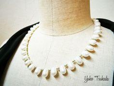 ピコットレースな淡水真珠ネックレス|あなたの綺麗がランクアップするアクセサリーをお届け UnBijou(アンビジュウ) 淡水パールネックレス