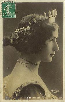 Reutlinger, C. DE MÉRODE, S.I.P. 1187, c. 1905. Postcard.