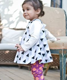 Another great find on #zulily! Green & Purple Reversible Jumper - Infant, Toddler & Girls #zulilyfinds