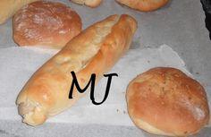 Pan de hamburguesa con leche