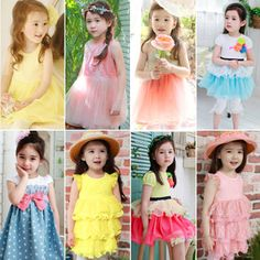 bow polka dot dress son 2012 summer korean version of the new baby girl childrens clothing 4277 only $9.61USD a Piece