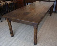 ➤French Farmhouse Table 4 Antique Farmhouse Table by www.alexanderpaulantiques.com
