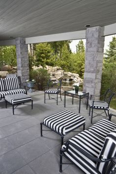 Diffe Styled Partially Fully Covered Patio Ideas