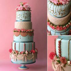 Marie Antoinette Wedding Cake  Flickr Photo Sharing