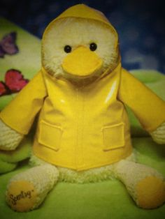 Wellington the duck make a splash with scentsys first ever buddy scentsy buddy stuffed animal wellington the duck in yellow rain slicker easter negle Choice Image