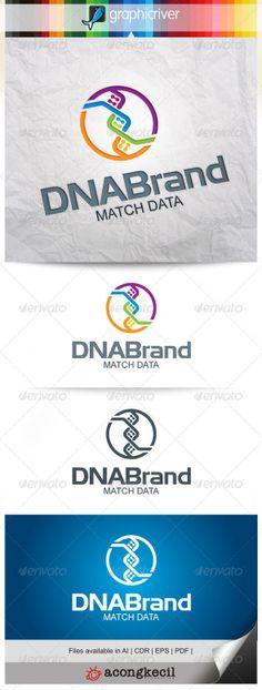 DNA Brand – Template Logo by Romaa Roma, via Behance