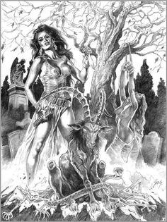 Halloween art that is naughty Samurai, Halloween Art, Erotic Art, Occult, Wallpaper, Fantasy Art, Horror, Game Of Thrones Characters, Princess Zelda