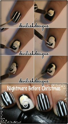 The Nightmare Before Christmas Tutorial