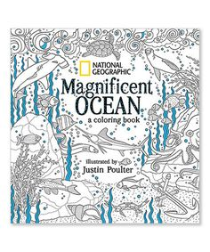 This Magnificent Ocean Coloring Book Is Perfect Zulilyfinds