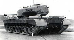 T29 Heavy Tank, rear view. Notice how massive is turret