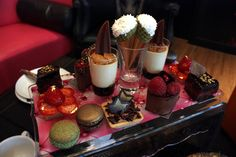 Cake Boy, London - Eric Lanlard - would love to go here for afternoon-tea, look at this!