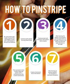 How to Pinstripe info