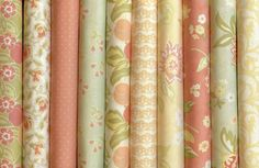 Mirabelle Fat Quarters by Joanna Figuera of Fig Tree Quilts For Moda 10 Fat Quarters Fabric