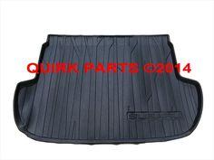 2014-2015 Subaru Forester Rear Cargo Tray / Mat Liner Black Genuine OEM NEW - 2014 Subaru Forester (J501SSG000)