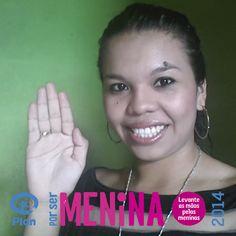 Shirley Stephanie Pedro #PorSerMenina