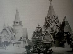 Fedor Shekhtel, pavillons russes à la Glasgow International Exhibition, 1901