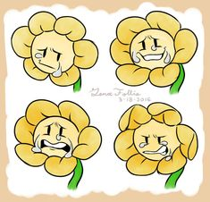 I've been trying really hard to enjoy this spring break, and can't seem to draw anything other then this poor flower here. Flowey needs. More Flowey Doodles Flowey Undertale, Undertale Puns, Undertale Fanart, Frisk, Flowey La Flor, Flowey The Flower, Toby Fox, Cheer Up, Character Art