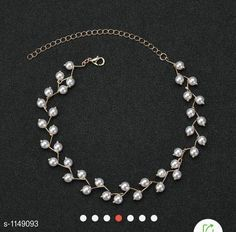 Necklaces & Chains Elegant Pearl Necklace Material: Alloy Size: Free Size Description:It Has 1 Piece Of  Chokar Work: Pearls Country of Origin: India Sizes Available: Free Size   Catalog Rating: ★4.2 (5763)  Catalog Name: Chic Beautiful Necklaces & Chains CatalogID_142823 C77-SC1092 Code: 871-1149093-543