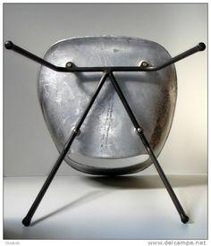 Tulipe Aluminium Chair by Pierre Guariche. c. 1954