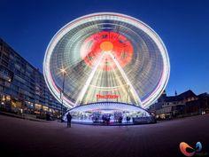 3 Reuzenrad 1 maand in Rotterdam naast de markthal