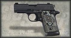 Sig Sauer 938-9-XTM-BLKGRY-AMBI P938 Extreme 7+1 9mm 3
