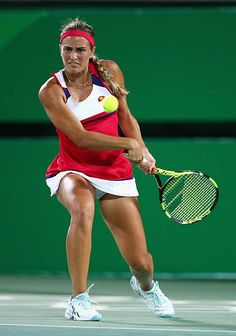 Monica Puig Photos Pictures and Photos Monica Puig, Wta Tennis, Tennis Racket, Tennis Pictures, Tennis Players Female, Sports Training, Sport Girl, Sports Women, Leotards