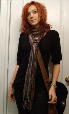 Why am I growing out my red again?? so cute!