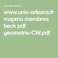 www.univ-orleans.fr mapmo membres beck pdf geometrie-CW.pdf