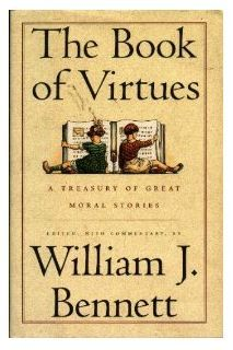 Free 900-page unit study that a homeschool mom created, based on The Book of Virtues by William J. Bennett