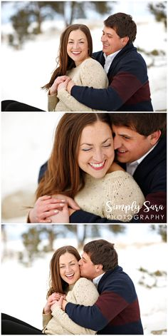 Billings MT Wedding Photographer Outdoor Engagement Photo Ideas Poses