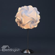 Beautiful Round Flower #Table #Lamp for Room Decoration