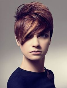 An oval face can carry all kinds of haircut and looks fabulous even when it is the cool and comfortable short hairstyle with long layers. Description from creativefan.com. I searched for this on bing.com/images