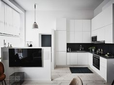 Стильная и умная небольшая квартира в Гетеборге (47 кв. м) | Пуфик - блог о дизайне интерьера