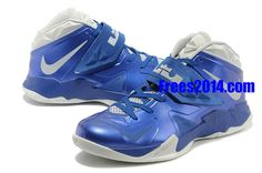 separation shoes ead29 931e4  cuteststuff com Wholesale Cheap Lebrons 2014 Over 60% off, 67.58 Lebron  Soldier 7 Mens Deep Royal Pure Platinum Medium Navy Grey 599264 006  Cheap   Lebrons ...