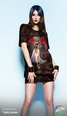 OArtTEES are the perfect accessory to any outfit. Custom all over printed luxury Tees. www.oarttee.com/