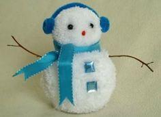 pom pom snowman