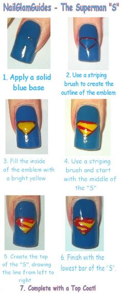 An Awesome Nail Idea! #GlamourGals
