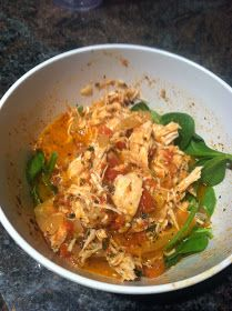 """River North Paleo Girl: """"Creamy"""" Crockpot Chicken and Tomato Soup - be sure to read the comments at the end of the article for modified recipe suggestions"""