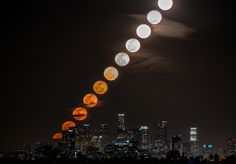 Pictures of Time Sliced Los Angeles by Dan Marker-Moore
